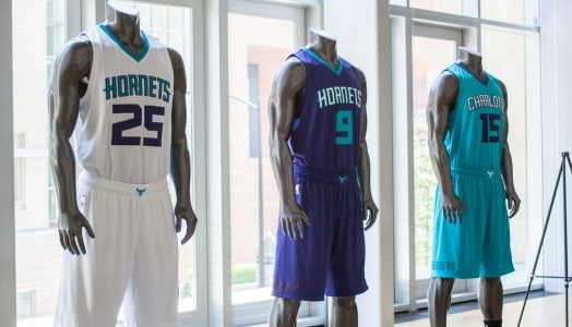 Mint Museum Uptown Hosts Public Unveiling Of New Charlotte Hornets Team Uniforms The Mint Museum