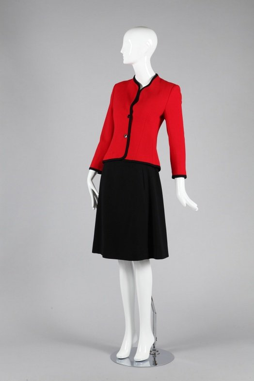 Suit Halston for JCPenney