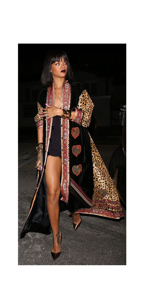 Image of Rihanna in Moschino Couture
