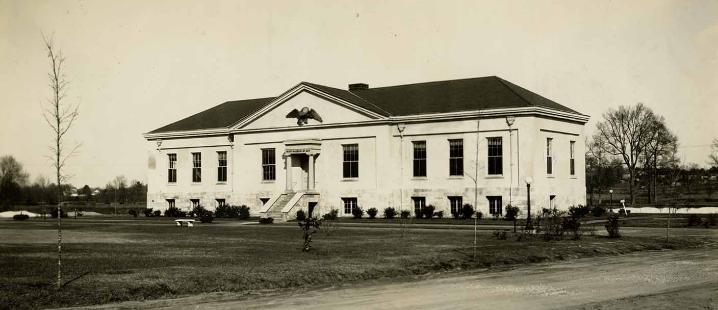 Old photograph of mint museum Randolph before it was a museum