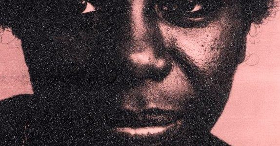 Nina Simone portrait by Russell Young