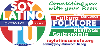 A logo for Soy Latino Como Tu