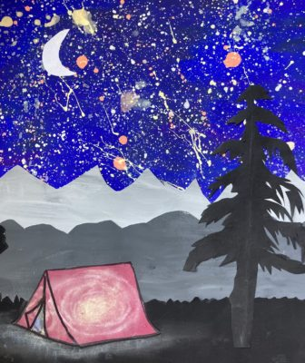 Camping Under the Stars Cover Photo