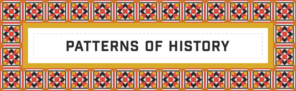 Patterns of History text graphic