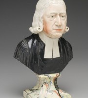 Bust of Reverend John Wesly