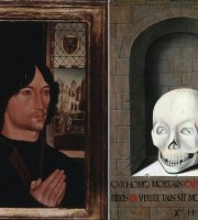 Portrait of a Donor / A Skull in a Niche