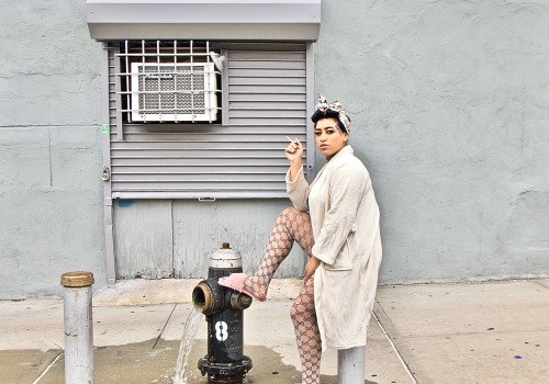 Emily, Gun Hill Road, Bronx, NYC. Friday, August 23, 2019, 2:29 PM (68 degrees). © Ruben Natal-San Miguel. Courtesy of Ruben Natal-San Miguel & Postmasters Gallery.