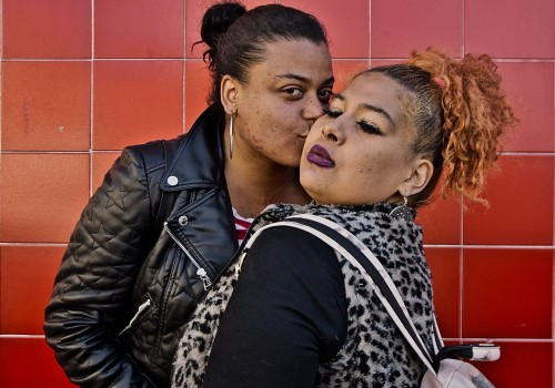 The Kiss, 2019, South Bronx, NYC. Wednesday, April 10, 2019, 5:00 PM (57 degrees). © Ruben Natal-San Miguel. Courtesy of Ruben Natal-San Miguel & Postmasters Gallery.